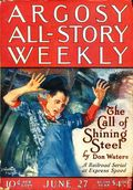Argosy Part 3: Argosy All-Story Weekly (1920-1929 Munsey/William T. Dewart) Jun 27 1925