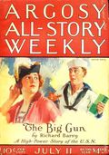 Argosy Part 3: Argosy All-Story Weekly (1920-1929 Munsey/William T. Dewart) Jul 11 1925