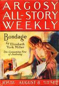 Argosy Part 3: Argosy All-Story Weekly (1920-1929 Munsey/William T. Dewart) Aug 8 1925