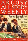 Argosy Part 3: Argosy All-Story Weekly (1920-1929 Munsey/William T. Dewart) Aug 15 1925