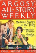 Argosy Part 3: Argosy All-Story Weekly (1920-1929 Munsey/William T. Dewart) Aug 29 1925