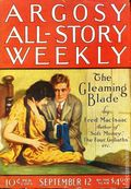 Argosy Part 3: Argosy All-Story Weekly (1920-1929 Munsey/William T. Dewart) Sep 12 1925