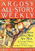 Argosy Part 3: Argosy All-Story Weekly (1920-1929 Munsey/William T. Dewart) Oct 3 1925