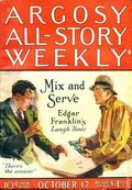 Argosy Part 3: Argosy All-Story Weekly (1920-1929 Munsey/William T. Dewart) Oct 17 1925