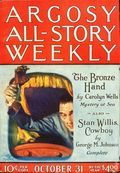 Argosy Part 3: Argosy All-Story Weekly (1920-1929 Munsey/William T. Dewart) Oct 31 1925