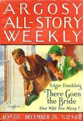 Argosy Part 3: Argosy All-Story Weekly (1920-1929 Munsey/William T. Dewart) Dec 26 1925