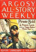 Argosy Part 3: Argosy All-Story Weekly (1920-1929 Munsey/William T. Dewart) Jan 2 1926
