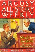 Argosy Part 3: Argosy All-Story Weekly (1920-1929 Munsey/William T. Dewart) Mar 20 1926