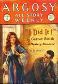 Argosy Part 3: Argosy All-Story Weekly (1920-1929 Munsey/William T. Dewart) Apr 17 1926