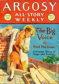 Argosy Part 3: Argosy All-Story Weekly (1920-1929 Munsey/William T. Dewart) Aug 28 1926