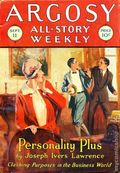 Argosy Part 3: Argosy All-Story Weekly (1920-1929 Munsey/William T. Dewart) Sep 11 1926