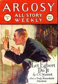 Argosy Part 3: Argosy All-Story Weekly (1920-1929 Munsey/William T. Dewart) Sep 3 1927