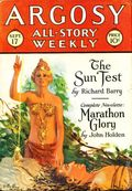 Argosy Part 3: Argosy All-Story Weekly (1920-1929 Munsey/William T. Dewart) Sep 17 1927