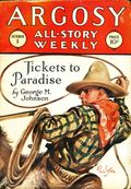 Argosy Part 3: Argosy All-Story Weekly (1920-1929 Munsey/William T. Dewart) Oct 1 1927