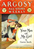 Argosy Part 3: Argosy All-Story Weekly (1920-1929 Munsey/William T. Dewart) Oct 8 1927