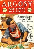 Argosy Part 3: Argosy All-Story Weekly (1920-1929 Munsey/William T. Dewart) Nov 12 1927