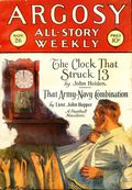 Argosy Part 3: Argosy All-Story Weekly (1920-1929 Munsey/William T. Dewart) Nov 26 1927