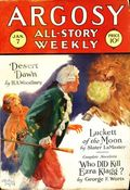 Argosy Part 3: Argosy All-Story Weekly (1920-1929 Munsey/William T. Dewart) Jan 7 1928