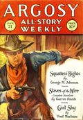Argosy Part 3: Argosy All-Story Weekly (1920-1929 Munsey/William T. Dewart) Jan 21 1928