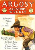 Argosy Part 3: Argosy All-Story Weekly (1920-1929 Munsey/William T. Dewart) Feb 25 1928