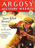 Argosy Part 3: Argosy All-Story Weekly (1920-1929 Munsey/William T. Dewart) Jul 7 1928
