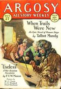 Argosy Part 3: Argosy All-Story Weekly (1920-1929 Munsey/William T. Dewart) Oct 27 1928