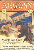 Argosy Part 3: Argosy All-Story Weekly (1920-1929 Munsey/William T. Dewart) May 4 1929