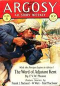 Argosy Part 3: Argosy All-Story Weekly (1920-1929 Munsey/William T. Dewart) Jun 8 1929
