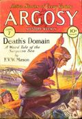 Argosy Part 3: Argosy All-Story Weekly (1920-1929 Munsey/William T. Dewart) Sep 7 1929
