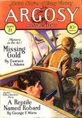 Argosy Part 3: Argosy All-Story Weekly (1920-1929 Munsey/William T. Dewart) Sep 21 1929
