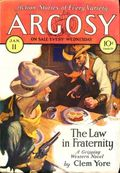 Argosy Part 4: Argosy Weekly (1929-1943 William T. Dewart) Jan 11 1930