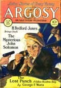 Argosy Part 4: Argosy Weekly (1929-1943 William T. Dewart) Jan 25 1930
