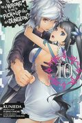 Is It Wrong to Try to Pick Up Girls in a Dungeon? GN (2015 Yen Press Digest) 10-1ST