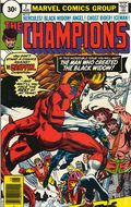 Champions (1975-1978 Marvel 1st Series) 30 Cent Variant 7