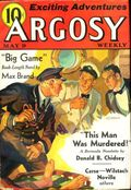 Argosy Part 4: Argosy Weekly (1929-1943 William T. Dewart) May 9 1936