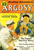 Argosy Part 4: Argosy Weekly (1929-1943 William T. Dewart) Jul 11 1936