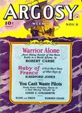 Argosy Part 4: Argosy Weekly (1929-1943 William T. Dewart) Nov 9 1940