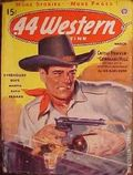 44 Western Magazine (1937-1954 Popular Publications) Pulp Vol. 10 #4