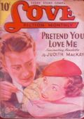 Love Fiction Monthly (1934-1949 Periodical House) Pulp Vol. 7 #2