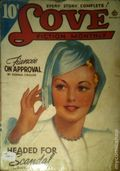 Love Fiction Monthly (1934-1949 Periodical House) Pulp Vol. 33 #1