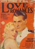Love Romances (1926-1938 Fiction House) Pulp Vol. 7 #4