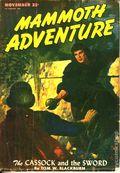 Mammoth Adventure (1946-1947 Ziff Publishing) Pulp Vol. 1 #3