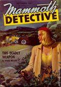 Mammoth Detective (1942-1947 Ziff Davis) Pulp Vol. 5 #6