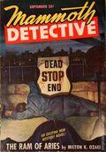 Mammoth Detective (1942-1947 Ziff Davis) Pulp Vol. 6 #9
