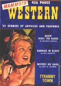 Mammoth Western Quarterly (1948-1951 Ziff Davis) Pulp Vol. 2 #1