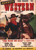 Mammoth Western Quarterly (1948-1951 Ziff Davis) Pulp Vol. 3 #3