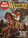 Max Brand's Western Magazine (1949-1954 Popular Publications) Pulp Vol. 1 #1