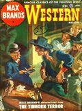 Max Brand's Western Magazine (1949-1954 Popular Publications) Pulp Vol. 1 #2