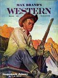 Max Brand's Western Magazine (1949-1954 Popular Publications) Pulp Vol. 4 #1
