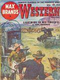 Max Brand's Western Magazine (1949-1954 Popular Publications) Pulp Vol. 5 #3